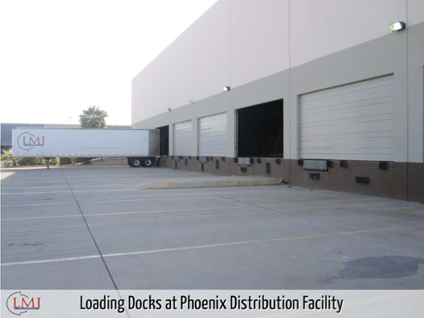 Loading Docks at Phoenix Distribution Facility