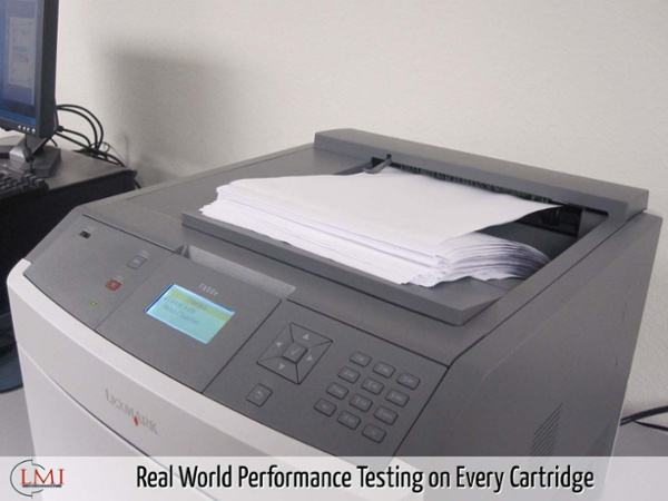 Real World Performance Testing on Every Cartridge