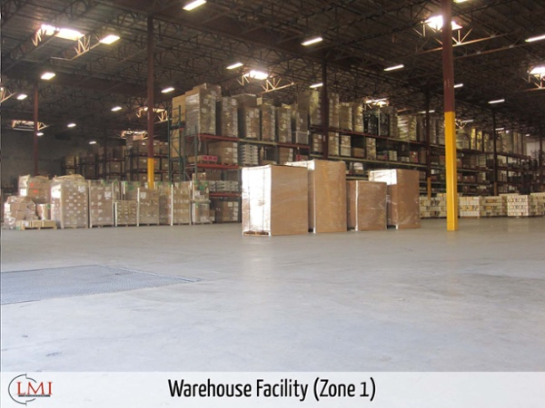 Warehouse Facility (Zone 1)