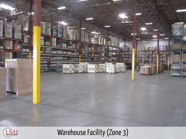 Warehouse Facility (Zone 3)