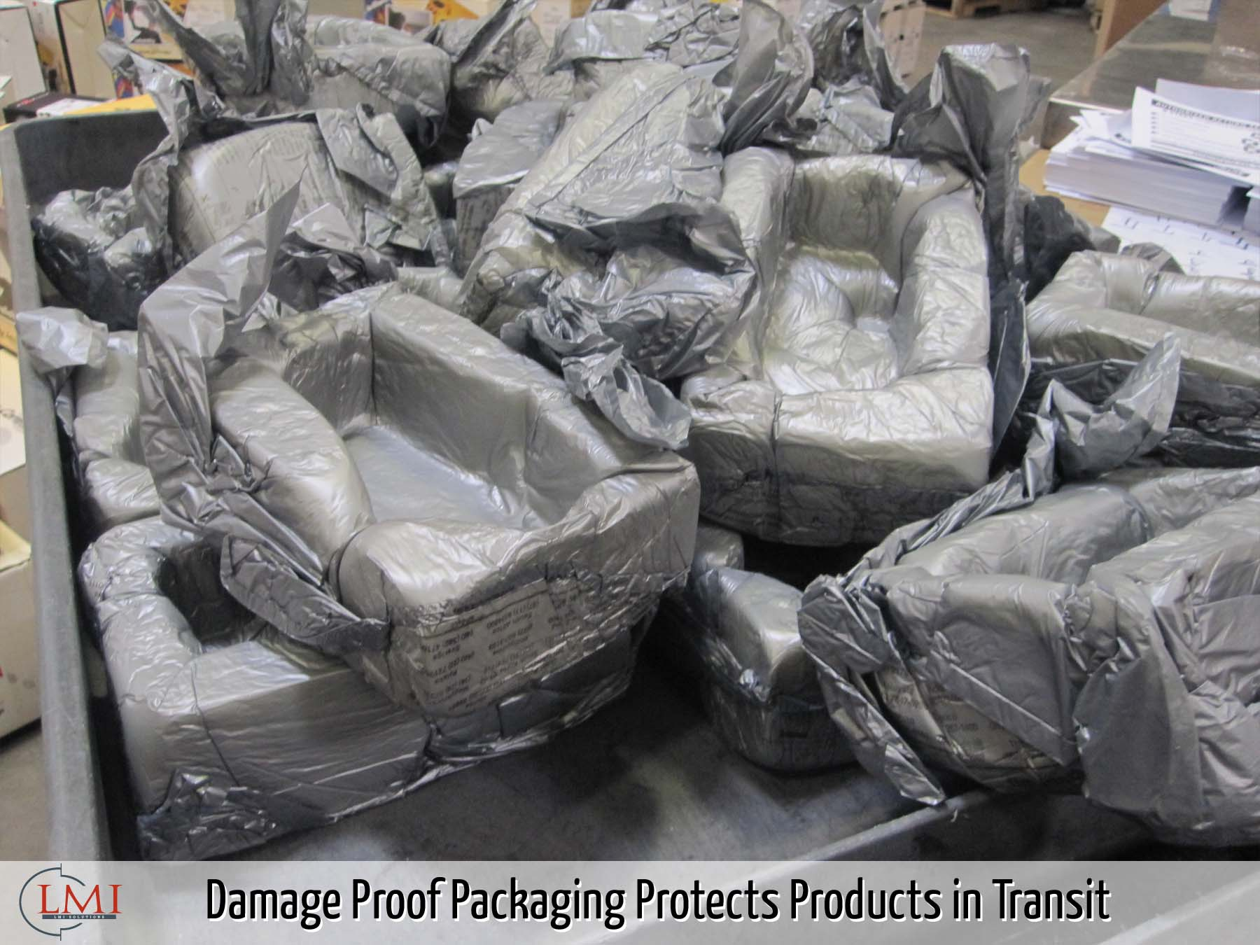 Damage Proof Packaging Protects Products in Transit