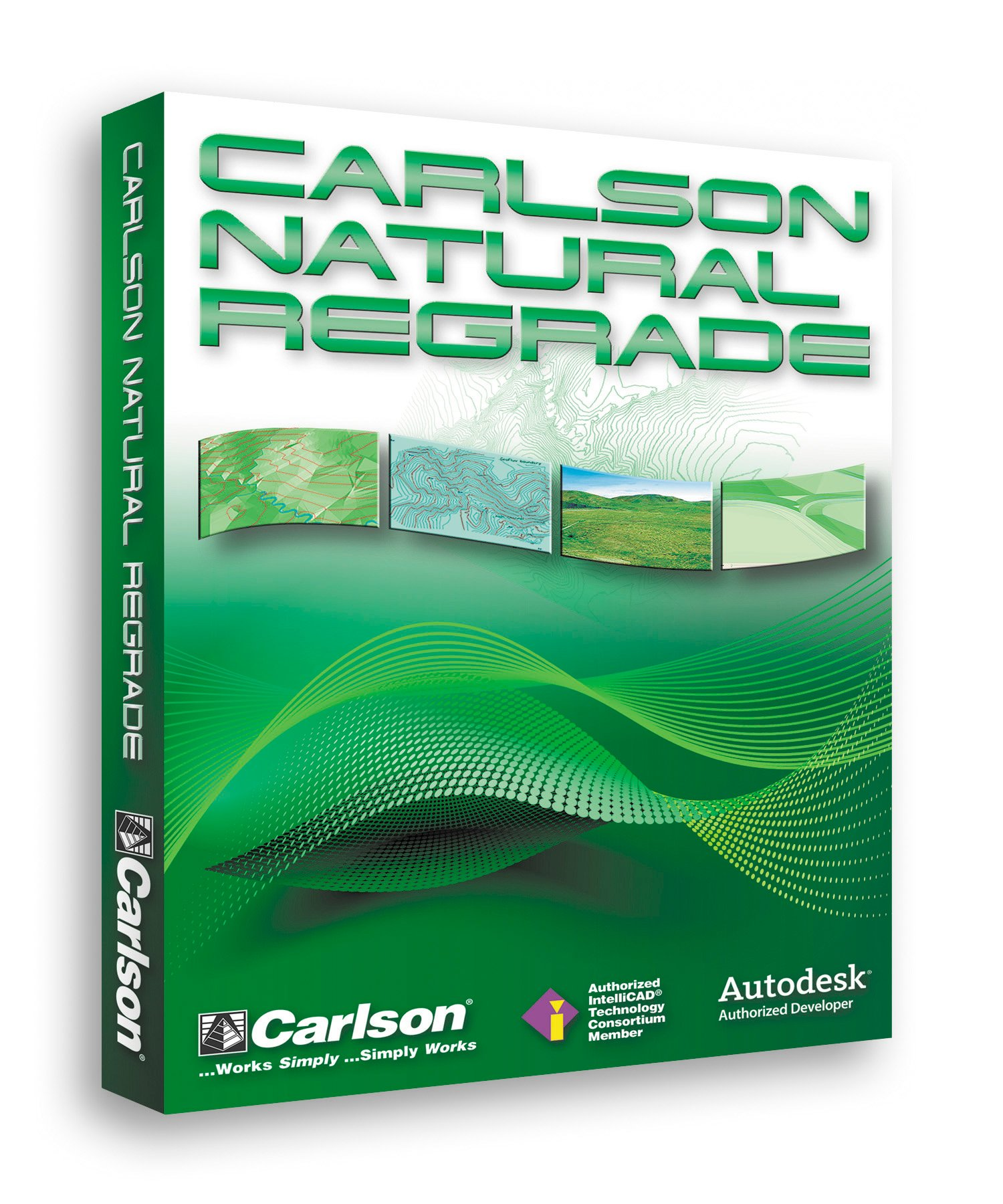 Carlson Natural Regrade for sustainable land reclamation