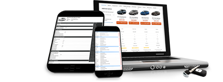 Vehicle VIN decoder, Automotive database, and vehicle data VIN decoding products.