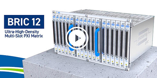 Video of the new 12-slot PXI switch matrix