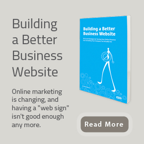 building a better business website CTA