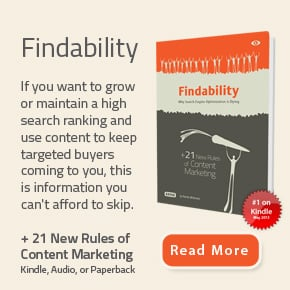 get the book findability
