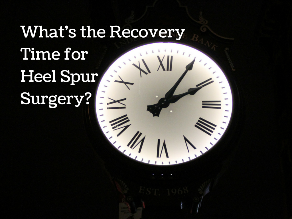 Recovery time after bone sput
