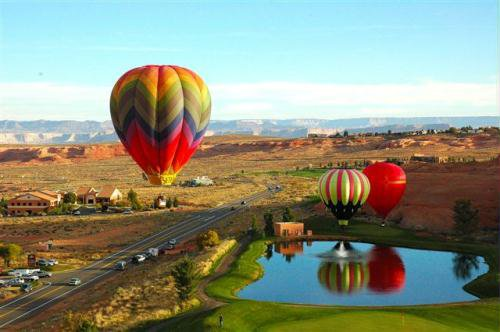 2012 Page Arizona Lake Powell Hot Air Balloon Regatta Festival