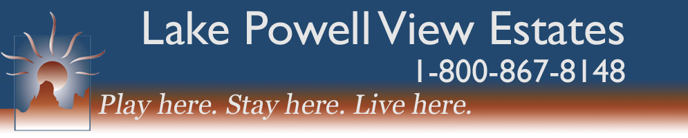 Lake Powell View Estates Logo