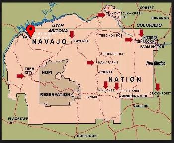 Alfa Img  Showing Gt Lower Antelope Canyon Map