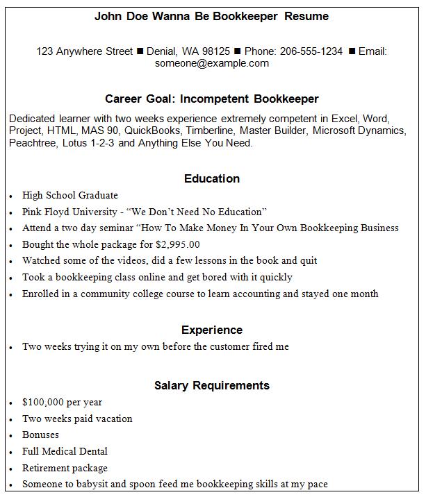 Example of bank teller resume