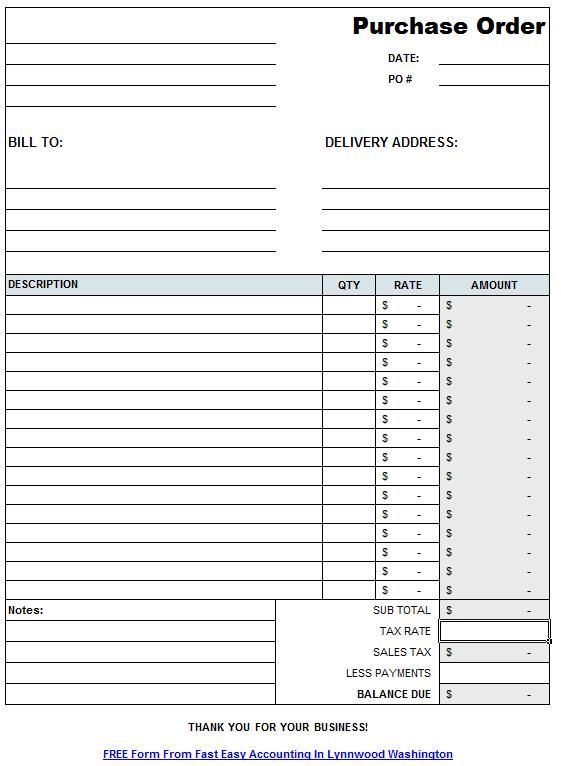 Download Excel Work Order Template | rabitah.net