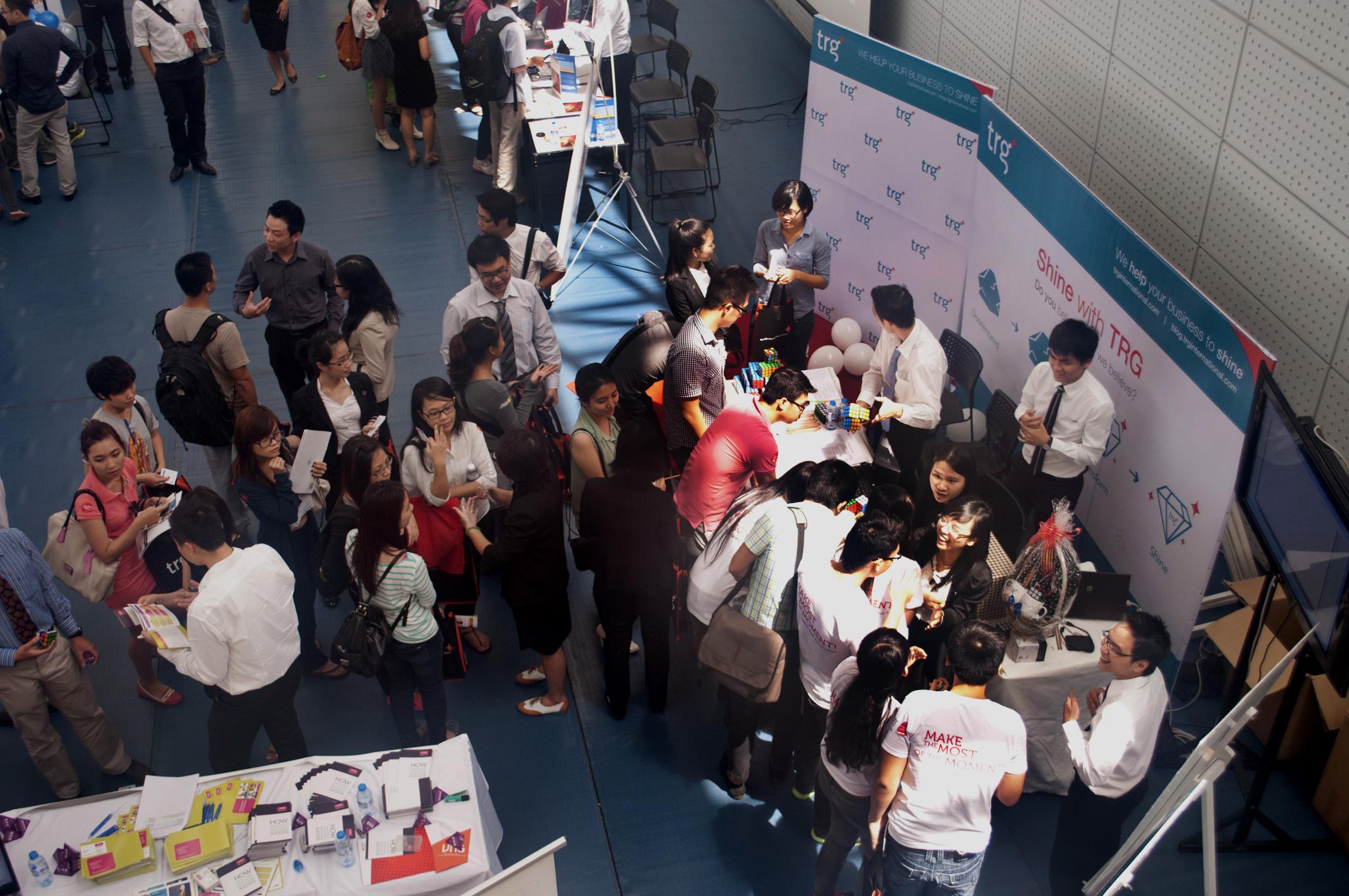 TRG Made an Entrance at RMIT Vietnam Career Week