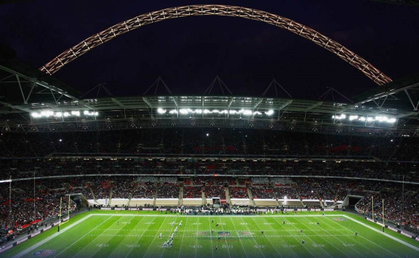 Wembley stadium opened in 2007 as the second largest stadium in europe