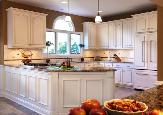 Kitchen transformed from tired to tremendous for Kitchen cabinet refacing
