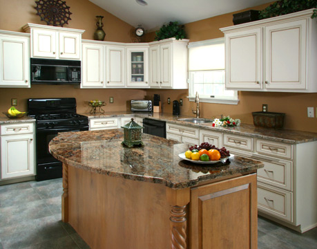 Kitchen cabinet refacing job a smart and sensible move for Kitchen cabinets jobs