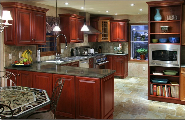 Nicest Kitchen Ever Of What Is The Best Cherry Kitchen Renovation Ever