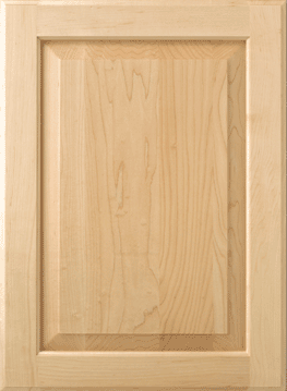 what is a raised panel cabinet door