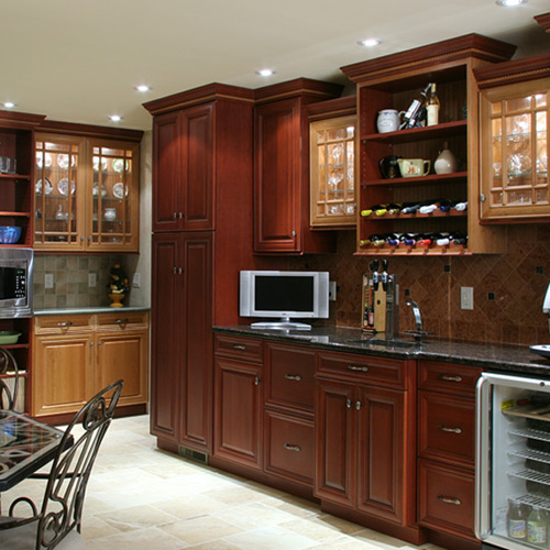 Cabinet Refacing Costs Half The Cost Of What?