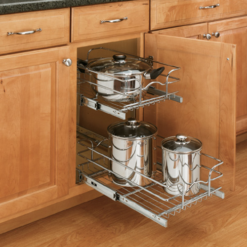 pull out trays for kitchen cabinets do pull out racks really help save space 24996