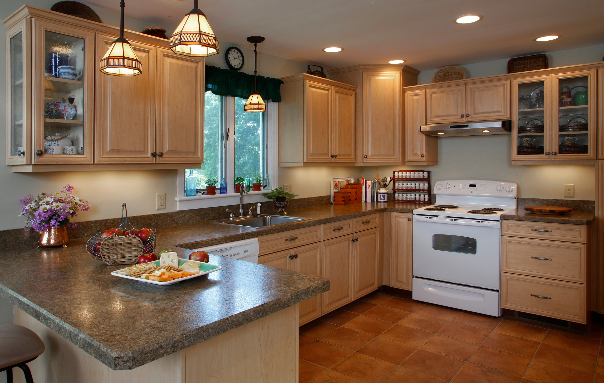 Kitchen Backsplash With Granite Countertops the pros and cons of the 4-inch backsplash