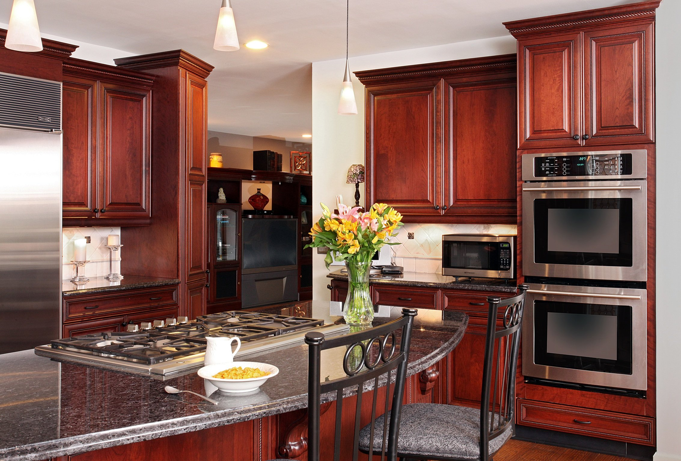 Kitchen Cabinets Crown Molding Stacked And Stepped Crown Molding Cabinet Improvements