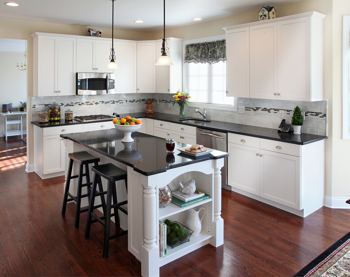 what countertop looks best with white cabinets white cabinet kitchen