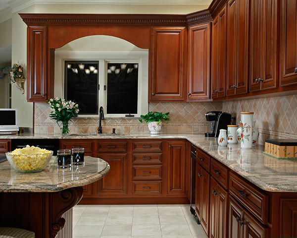 What paint colors look best with cherry cabinets for Best colors for kitchens with cherry cabinets
