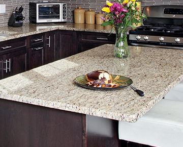 5 most popular granite countertop colors for Most popular kitchen countertops