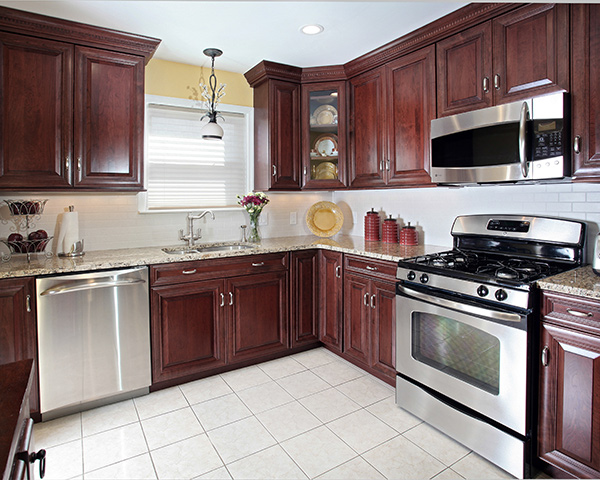 Bring your kitchen to new heights with ceiling height cabinets for Kitchen cabinets 9 ft ceiling