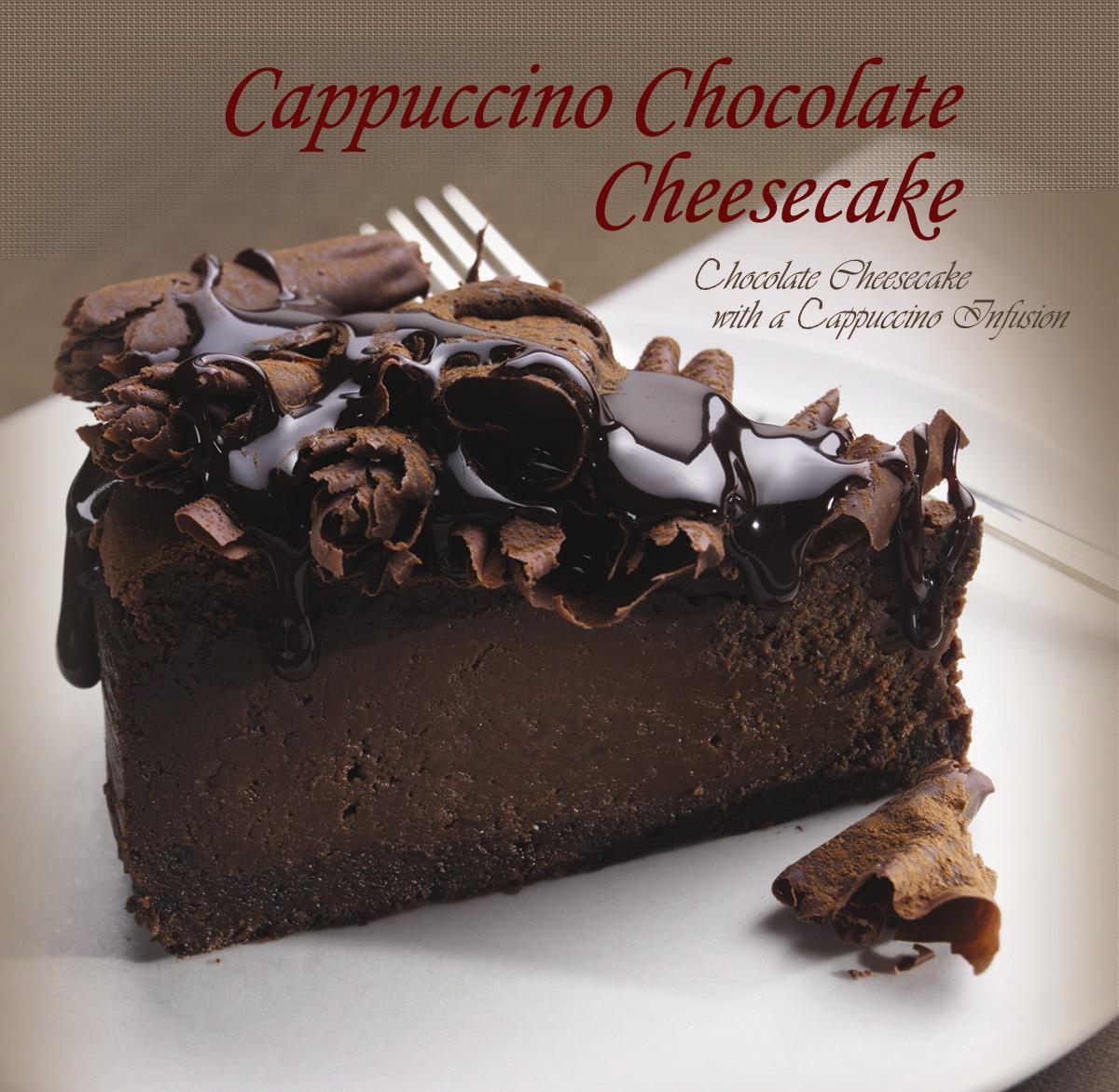 Chocolate Cappuccino Cheesecake Recipes — Dishmaps