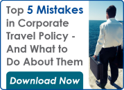 5 mistakes in corporate travel policy