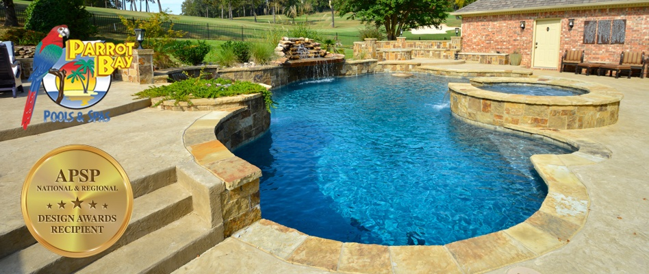 Swimming pool rope swings an alternative to diving for Pool design mistakes