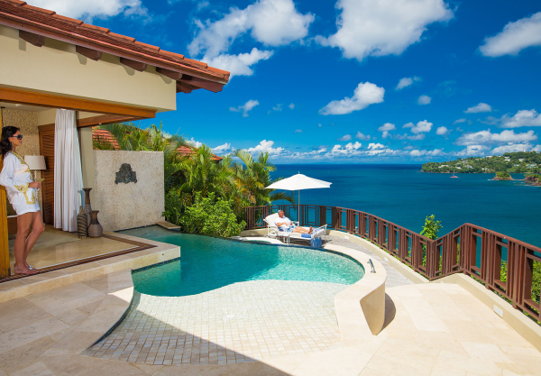 Sandals Regency st Lucia Sandals la Toc st Lucia Suite