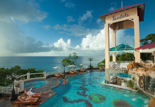 Sandals Regency st Lucia Sandals la Toc st Lucia Bluff