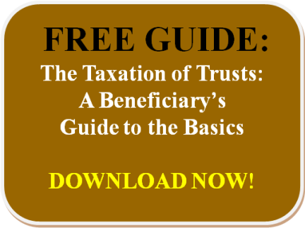 Free Guide to Taxation of Trusts