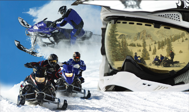 yamaha snowmobile event