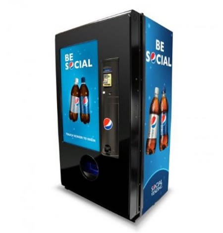 New Pepsi Vending Machines Use Social Marketing Strategy
