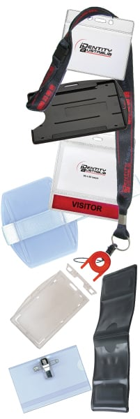 Card Holder Sample Packs - Flexible Card Holder - Rigid Card Holders - ID Card Holders - Magnetic Card Holder Governement - Hospital and Mining