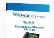 Revolutionary SIP Phone SIP-T48G TeleDynamic