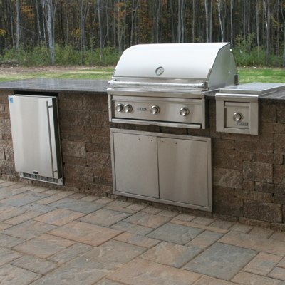 How much does a built in grill cost for Outdoor barbecues built in