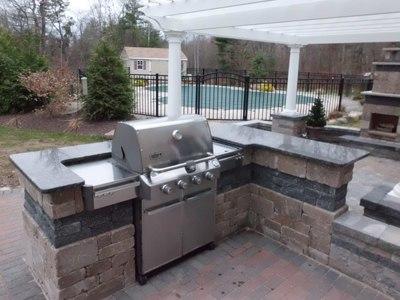 how do i plan my outdoor kitchen. Black Bedroom Furniture Sets. Home Design Ideas