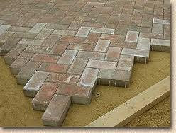 Pavers with efflorescence