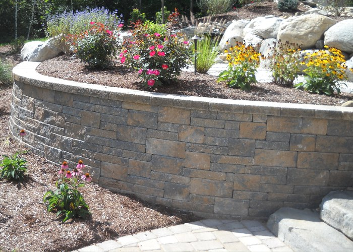 Techo-Bloc's Mini Creta Wall Block