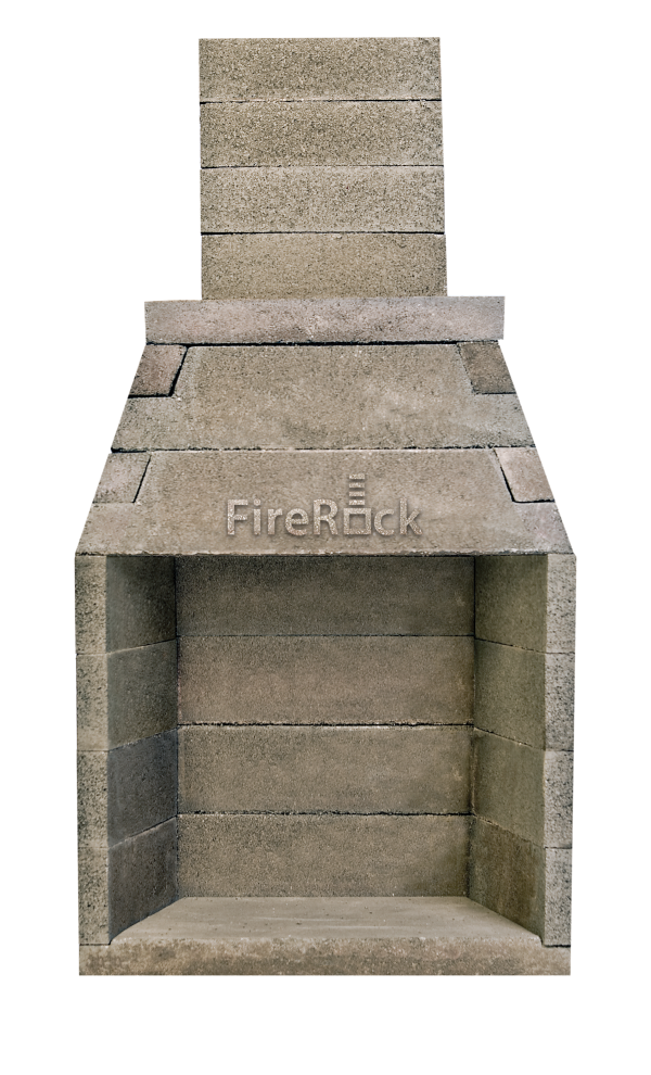 The top 5 reasons why FireRock is superior to Isokern when choosing a prefabricated masonry fireplace kit.