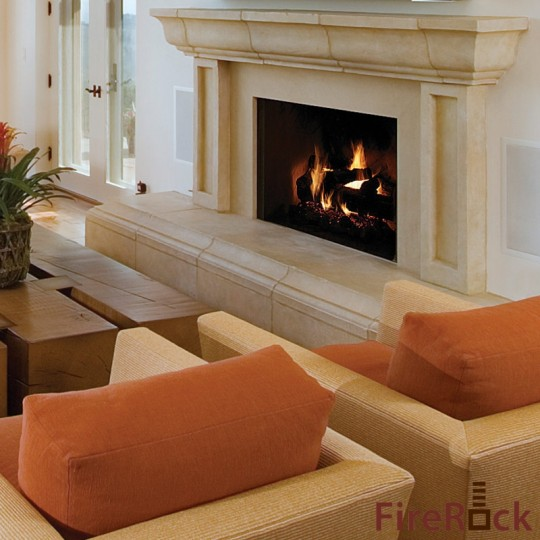Firerock Blog Rumford Outdoor Fireplace