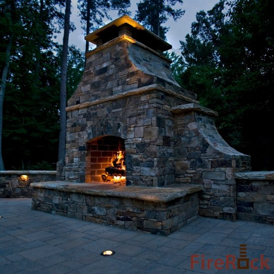 FAQ: Can I Customize My FireRock Pre-Engineered Masonry Fireplace?
