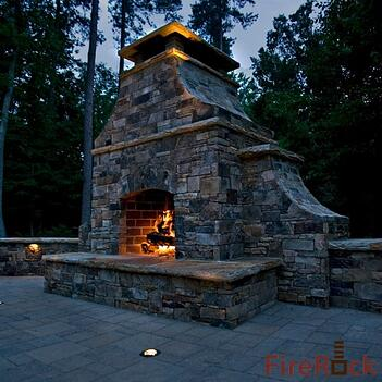 Faq Can I Customize My Firerock Pre Engineered Masonry Fireplace