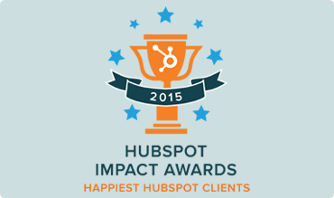 SPROUT Content HubSpot Impact Awards - Happiest HubSpot Clients