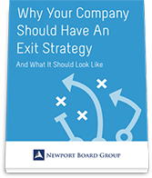 Why Your Company Should Have An Exit Strategy